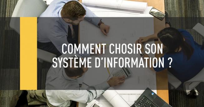 Ne pas oublier les utilisateurs lors d'un choix de système d'information.