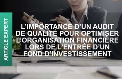audit organisation financière