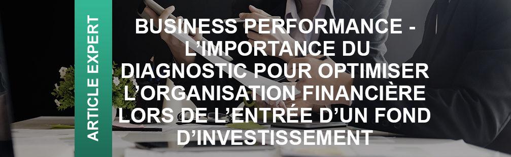 diagnostic optimisation organisation financière
